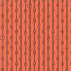 RJ2304-RE2 Smooth Seas - Anchor - Red Fabric