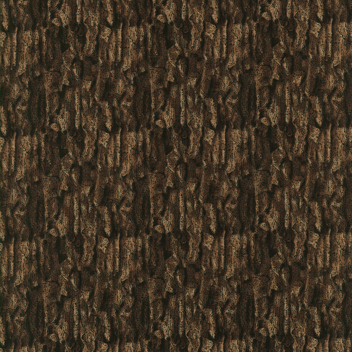 1423 001 Danscapes Tree Bark Brown Fabric