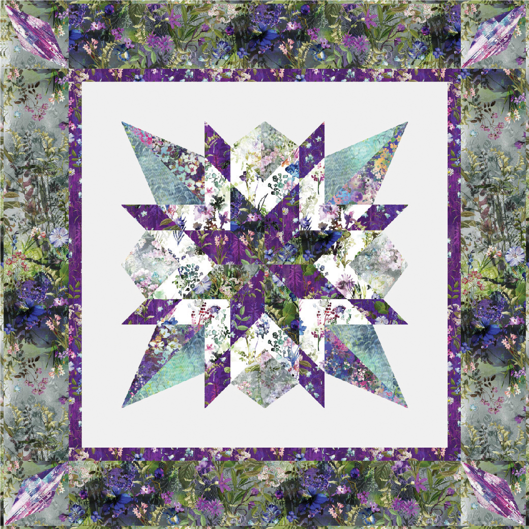9653-360 Wildwood Way Star Gazer Quilt Kit | RJR Fabrics