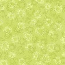 3219-010 Hopscotch - Deconstructed Dandelions - Sage Fabric 2