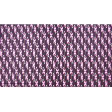 KK102-PL3 Floret Geometric - Avenue G - Plum Fabric 2