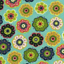 3036-002 Mirage - Fanciful Flower - Angel Blue Fabric