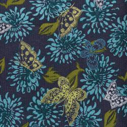 3070-001 Kyoto - Butterflies - Tranquil Fabric