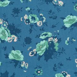 3522-003 Garden Club - Bouquet - Dusk Fabric