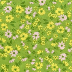 3523-002 Garden Club - Cuttings - Grass Fabric