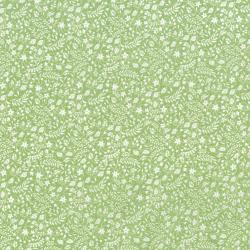 3528-002 Garden Club - Strawberry Patch - Grass Fabric