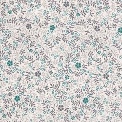 2877-001 One Room Schoolhouse - Wild Flower - Stone Fabric