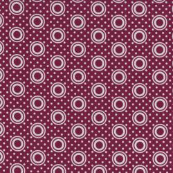 2437-003 Pie Making Day - Pie Plate - Raspberry Fabric