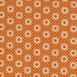 2437-031 Pie Making Day - Pie Plate - Orange Fabric