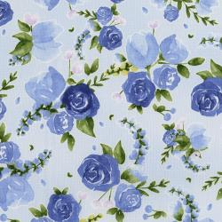 3293-003 June's Cottage - Prized Roses - Nova Fabric