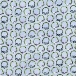 3295-002 June's Cottage - Laurel - Coast Fabric