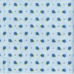 3297-003 June's Cottage - Rosebud - Raindrop Fabric