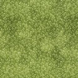 3300-002 June's Cottage - Baby's Breath - Snow Pea Fabric