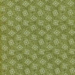 1451-004 Lovely - Floral Shirting - Light Green Fabric