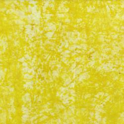 3348-004 Blossom Batiks - Sakura - Crackle - Lemon Batik Fabric