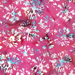 3506-006 Blossom Batiks - Splash - Daisies - Sweet Pea Fabric