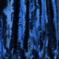 3138-005 Blossom Batiks - Valley - Fossil - Midnight Blue Batik Fabric