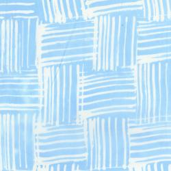 3140-002 Blossom Batiks - Valley - Thatch Brush - Sky Batik Fabric