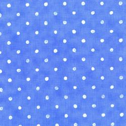 2953-003 Daisy Blue - Darling Dots - Blue Sky Fabric