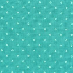 2953-007 Darling Dots - Darling Dots - Turquoise Fabric