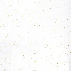 2792-012 Shiny Objects - Holiday Twinkle - Flurries - Snow Metallic Fabric
