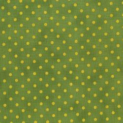 3164-005 Shiny Objects - Holiday Twinkle - Spot On - Pistachio Metallic Fabric