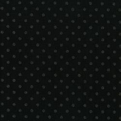 3164-008 Shiny Objects - Precious Metals - Spot On - Radiant Black Metallic Fabric