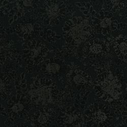 3481-001 Shiny Objects - Precious Metals - Lustrous Lace - Black Metallic Fabric