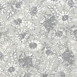 3482-002 Shiny Objects - Precious Metals - Lustrous Lace - Platinum Metallic Fabric