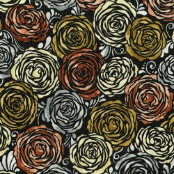 3513-001 Shiny Objects - Precious Metals - Candied Roses - Radiant Rose Gold Metallic Fabric