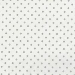 3164-014 Shiny Objects - Sweet Somethings - Spot On - Vanilla Metallic Fabric