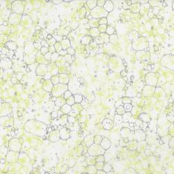 3535-003 Shiny Objects - Sweet Somethings - Bubbles - Citrine Metallic Fabric