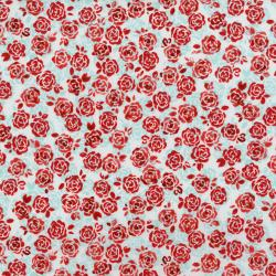 3375-001 Sugar Berry - Playful Posies - Radiant Crystal Metallic Fabric