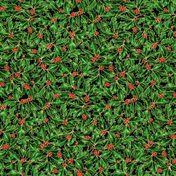2789-001 Suite Christmas - Holly Holiday - Tannenbaum Metallic Fabric