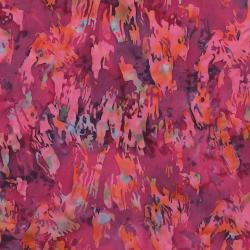 FF303-BE1 Blossom Batiks - Cascade - Paint Texture - Begonia Fabric