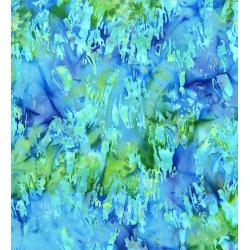 FF303-CO4 Blossom Batiks - Cascade - Paint Texture - Cove Fabric