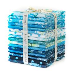 FF200P-FQB Blue Belle Metallic Fat Quarter - Bundle