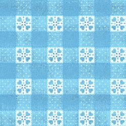 FF206-BR1M Blue Belle - Goody Basket - Bright Sky Metallic Fabric