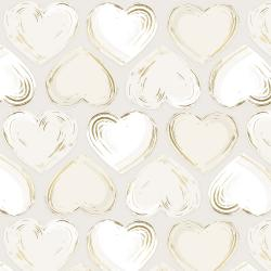 FF502-PE5M Shiny Objects - Good as Gold - Locket - Pearl Metallic Fabric
