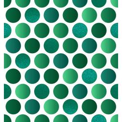 FF402-HO1M Shiny Objects - Holiday Twinkle 2 - Lotta Dot - Holly Metallic Fabric