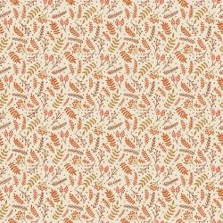 JM110-IV4 Branching Out - Ivory Fabric