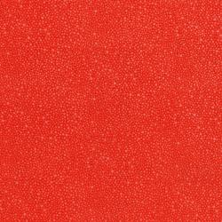 3224-004 Hopscotch - Random Dots - Deep Coral Fabric