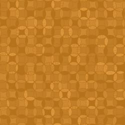 3641-001 Hopscotch - Cathedral Windows - Caramel Fabric