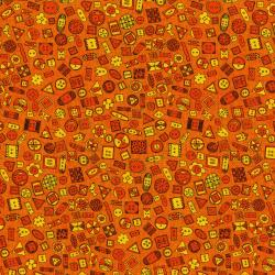3425-002 Sewing 101 - Button Up - Orange Fabric