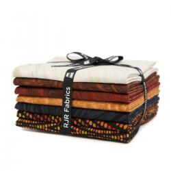 JB200P-FQB-S Andalucia - Sienna Fat Quarter - Bundle