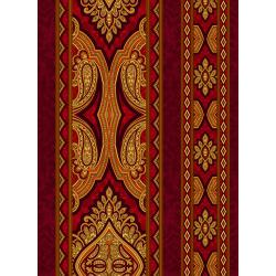 3578-003 Aruba - Border - Crimson Fabric