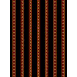 3580-003 Aruba - Mini Stripe - Crimson Fabric