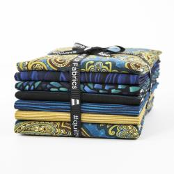 9652-538 Aruba Fat Quarter - Aqua Marine - Bundle
