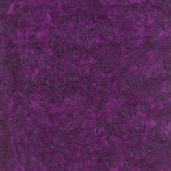 1767-001 Best Of Malam Batiks - Bellflower - Purple Fabric