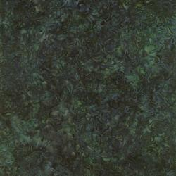 1768-007 Best Of Malam Batiks - Jacquard - Dark Pine Fabric